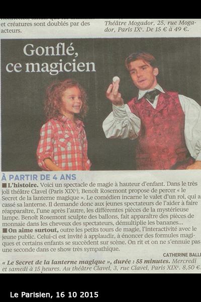 Magicien à domicile en région parisienne