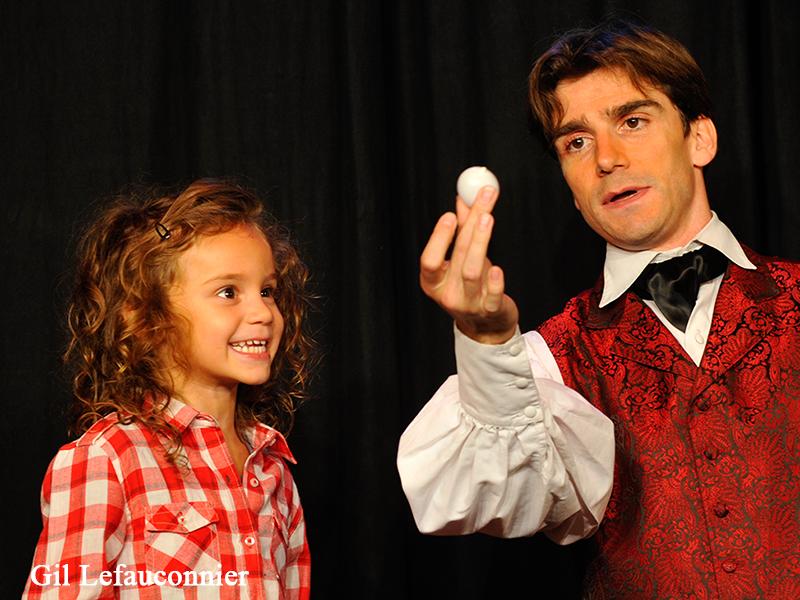Magicien pour anniversaire d'enfant