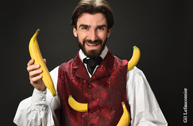 Magicien pour enfants à Paris, Benoît Rosemont