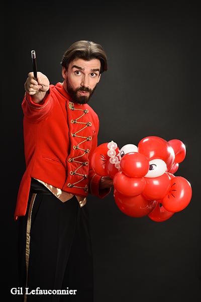 Benoît Rosemont, le magicien des enfants