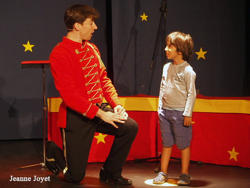 Spectacle magie pour enfants