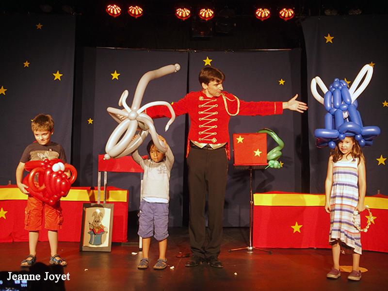 Un spectacle participatif pour enfants